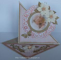 driehoek babykaart