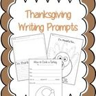 "Included are 3 writing prompts to get kids thinking about Thanksgiving. There are 2 prompts titled ""I'm Thankful for""; 1 has students write what th..."