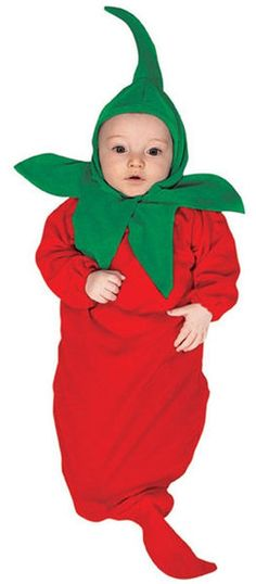 Chili Pepper Infant Bunting Costume
