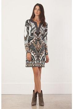 Hale Bob Nadja Jersey Dress