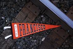 Classic San Francisco Pennant – Oxford Pennant