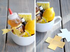 Have a friend who's feeling under the weather? Put together this kit to help them feel better.