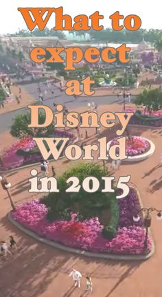 What to expect at Disney World in 2015 - construction, new things coming