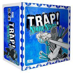 Trap Nimble Ninjas Board Game