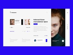 Champman designed by Avtø . Connect with them on Dribbble; the global community for designers and creative professionals. Website Layout Examples, Website Designs, Website Ideas, Online Workout Videos, Ui Design Inspiration, Ui Web, Site Internet, User Interface Design, App Design