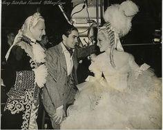 Behind the scenes of Marie Antoinette (1938).