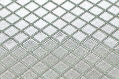 Vetro mosaico piastrelle in argento con strass (MT0073) 30cm x 30cm: Amazon.it: Fai da te