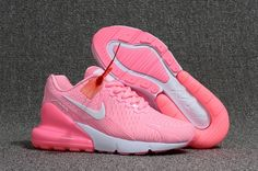 best loved b0053 838d4 New Arrivel Nike Air Max Flair 270 KPU Pink White Running Shoes Sneakers Nike  Air Max
