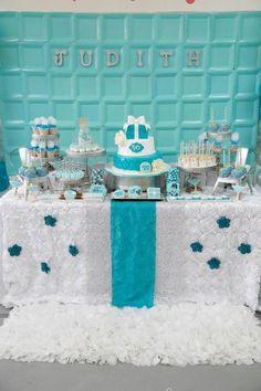 Dessert Table - Robin Egg Blue