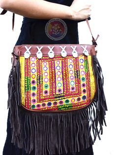 Fantastic Fringe Sling Bag vintage boho chic bohemian tribal ethnic indo-western handmade handcrafted quirky gypsy unique pom-pom tassel made in india bags ideas antique beautiful cool awesome indian wedding festive festival diwali party desi designer earrings design bollywood colorful bright mandalas hand painted india fashion exotic fringe afghani traditional statement sangeet mehendi bridesmaid kutchi afghan crotchet pink yellow green blue red golden purple orange bridal style fashion…