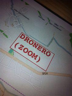 Rilevazione #bandalargaCN a #Dronero . Rilevati n. 35 punti in questa zona il giorno 23 Agosto 2013.