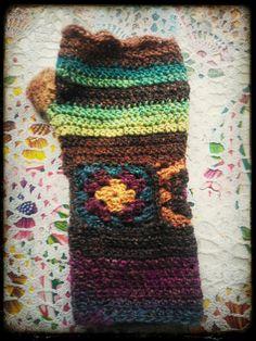crochet glove