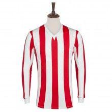 Rare and retro football merchandise. Retro Football, Football Shirts, Exeter City, Stoke City Fc, Brentford, Sheffield United, Striped Jersey, Sunderland, Red Stripes