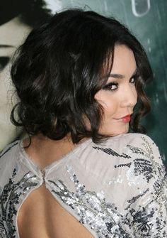 Vanessa Hudgens gorgeous, updo hairstyle