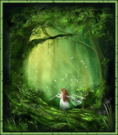 Fairy Friends 20 - Making Music - Animated Fantasy Art - The Fairy Realm