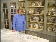 How To Display a Collection in a Cabinet Videos | Home & Garden How to's and ideas | Martha Stewart