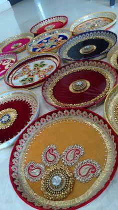 Puja thali- Vrishti Creations ph 9669207565  , 9826116090