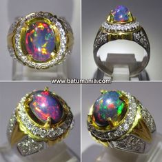 Gems Jewelry, Jewellery, Black Opal, Rings For Men, Silver Rings, Quartz, Mens Fashion, Gemstones, Bracelets