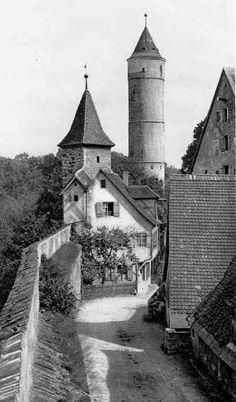 Dinkelsbühl, Germany..