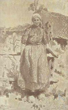 Emile Patoux Boerin uit Drunen, 1918 #NoordBrabant #LandHeusdenAltena