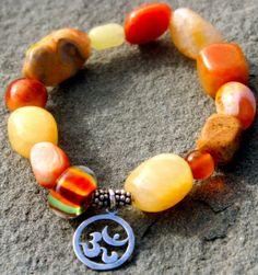 Carnelian Gemstone Bracelet Check it out now: http://www.ekdesignsjewelry.com/Merchant2/merchant.mvc?Screen=PROD&Store_Code=EDJ&Product_Code=gem0010&Category_Code=beads $50.00#Gemstonebracelets #Graduationbracelets #Elasticgemstonebracelets #Healingbracelets #Gemstonejewelry