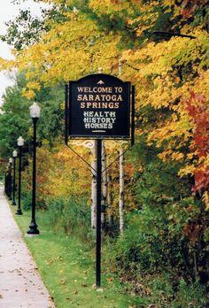 Saratoga Springs NY boils down to three things: health, history and horses!