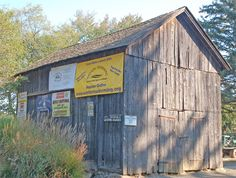 The Onion Barn in Weston Center is getting a new roof and other repairs. —Patricia Gay photos A building that has served for years as the town's billboard,
