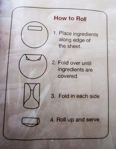 How To Roll Up Spring Rolls, Egg Rolls, and Burritos! ~ Houston Foodlovers