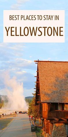 Complete accommodation guide for Yellowstone National Park. Where to stay in Yellowstone: the best Yellowstone hotels and lodging, and the very best place to stay near the park. Yellowstone Vacation, Yellowstone Park, Hotels Near Yellowstone, Wyoming Vacation, Tennessee Vacation, West Yellowstone Montana, Camping Places, Places To Travel, Tips