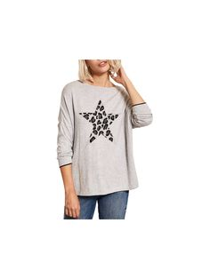 923f939e0fda9d BuyMint Velvet Animal Star Knit Jumper