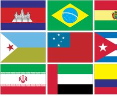 International Flag Bunting