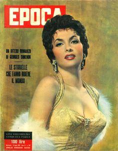 Epoca 14/8/1955 -Gina Lollobrigida