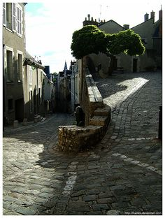 Bend | This windy medieval road in Blois, France has a lot o… | Flickr - Photo Sharing!