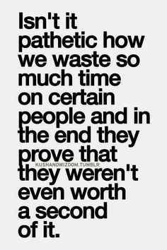 preach!! im so glad we didn't waste another second on worthless trash when we were meant to find each other :))