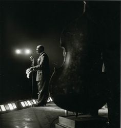 Louis Armstrong by Jeanloup Sieff.