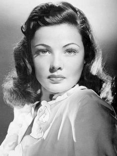 Gene Tierney, one of Hollywood's most beautiful.  More versatile an actress than often credited.