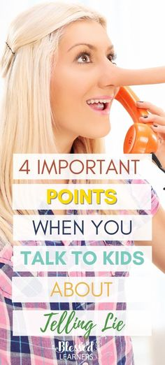 Talking to kids about a lie is very important before it becomes a habit. Kids need to grasp the concept that lying is never a good solution. #Printable #Parenting #Honesty