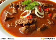Czech Recipes, Ethnic Recipes, Thai Red Curry, Chili, Soup, Favorite Recipes, Cooking, Breakfast, Health