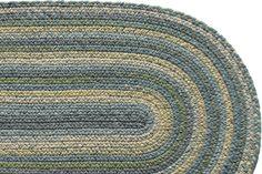 Highland Stream - Wool Braided Rug