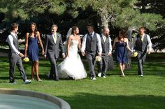 Jessica and Josh - the wedding party