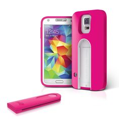 Repin to WIN! Selfy™ (SS5SELF) GALAXY S5 case with a built-in wireless camera shutter #iLuv #Back2School