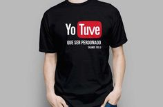 la verdad me gusto mucho Christian Shirts, T Shirts With Sayings, Cool Logo, Modest Outfits, Branded T Shirts, Alter, Funny Tshirts, Shirt Designs, Tee Shirts
