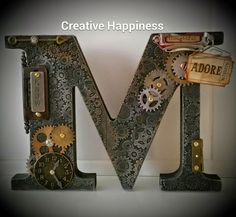Creative Happiness: Steampunk letters