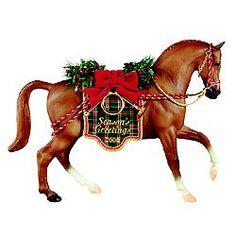 breyer horses holiday | Breyer #700400 Holiday Hunt Christmas Holiday Horse 2000