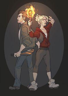 Josh and Sam Until Dawn