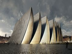 Cathedral Fold Designed by NYC Axis Mundi - Strasbourg, France