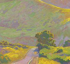DAN PINKHAM ARTIST     | Musings Of A Painter / Beyond a Sunny Hillside