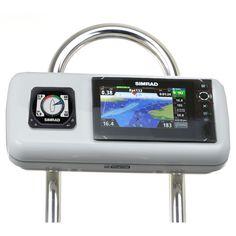 "NavPod GP1516 SystemPod Pre-Cut f/Simrad NSS7 evo2 or B&G Zeus² 7 & 1 Instrument f/9.5"" Wide Guard"