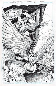 Earth-2: World's End #3 by Ardian Syaf, inks by Jonathan Glapion *