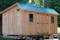 Fred's Sheds LLC - Custom Amish Sheds and Other Outdoor Structures! - Saltbox Shed